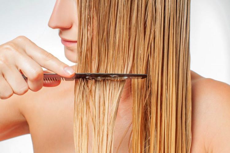 Почему нельзя расчёсывать мокрые волосы?