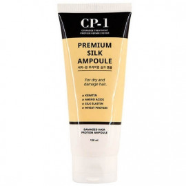 Несмываемая сыворотка для волос с протеинами шелка Esthetic House CP-1 Premium Silk Ampoule 150 мл