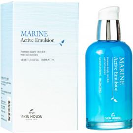 Интенсивно увлажняющая эмульсия The Skin House для лица Marine Active 130мл