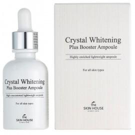Ампульная сыворотка-бустер The Skin House для выравнивания тона лица Crystal Whitening