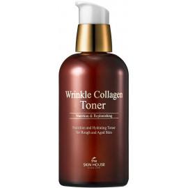Антивозрастной тонер The Skin House с коллагеном Wrinkle Collagen 130мл
