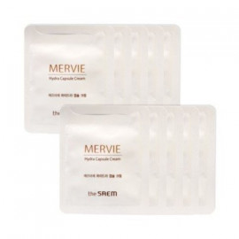 ПРОБНИК Крем для лица SAEM увлажняющий Mervie Hydra Capsule Cream 2g