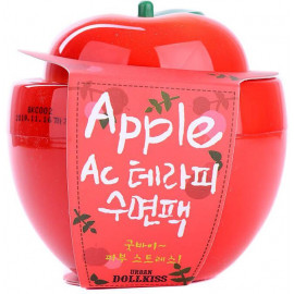 Маска ночная baviphat для проблемной кожи яблоко Urban Dollkiss Apple AC Therapy Sleeping Pack