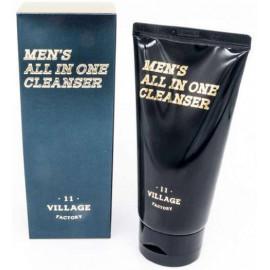 Мужская увлажняющая пенка-скраб для умывания и бритья Village 11 Factory Mens All In One Cleanser 150 мл