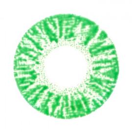 Цветные линзы HERA Rich Green на 3мес. от 0 до -8дптр (2шт)