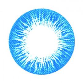 Цветные линзы HERA Rise Blue на 3мес. от 0 до -8дптр (2шт)
