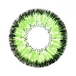 Цветные линзы HERA Classic Green на 3мес. от 0 до -8дптр (2шт)