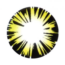 Цветные линзы HERA Exotic Brown на 3мес. от 0 до -8дптр (2шт)
