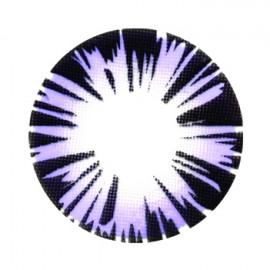 Цветные линзы HERA Exotic Violet на 3мес. от 0 до -8дптр (2шт)