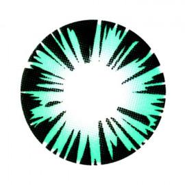 Цветные линзы HERA Exotic Aqua на 3мес. от 0 до -8дптр (2шт)