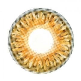 Цветные линзы HERA Premium Brown на 3мес. от 0 до -8дптр (2шт)