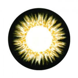 Цветные линзы HERA Elite Brown на 3мес. от 0 до -8дптр (2шт)