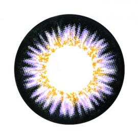 Цветные линзы HERA Elite Violet на 3мес. от 0 до -8дптр (2шт)