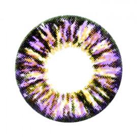 Цветные линзы HERA Glamour Violet на 3мес. от 0 до -8дптр (2шт)