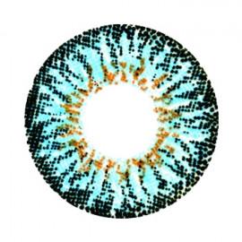 Цветные линзы HERA Vivid Blue на 3мес. от 0 до -8дптр (2шт)