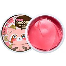 Гидрогелевые патчи для глаз и щек Secret Key Pink Racoony Hydro-Gel Eye & Cheek Patch 60 шт