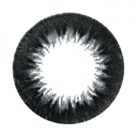 Цветные линзы HERA Black Sun на 3мес. от 0 до -6дптр (2шт)