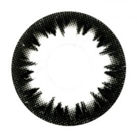 Цветные линзы HERA Black Corona на 3мес. от 0 до -6дптр (2шт)