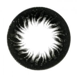 Цветные линзы HERA Black Flame на 3мес. от 0 до -6дптр (2шт)
