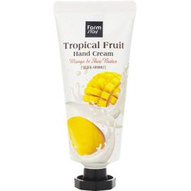 Крем для рук FarmStay Тропические фрукты с манго и маслом ши 50мл
