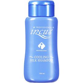 Освежающий шампунь INCUS с ментолом и шелковой системой Cooling Silk Shampoo 180 мл