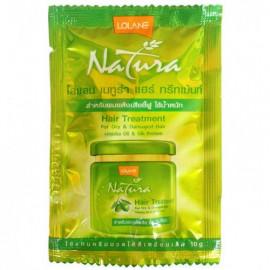 Маска LOLANE для сухих и поврежденных волос с маслом жожоба и протеинами шелка 10 гр в интернет магазине