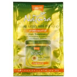 Маска LOLANE для окрашенных волос с экстрактом семян подсолнечника 10 гр