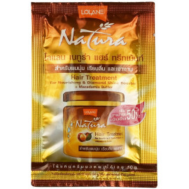 Маска LOLANE для лечения волос с маслом ореха макадамии 10 гр