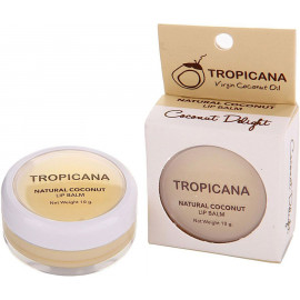 Бальзам для губ TROPICANA с ароматом кокоса 10 гр