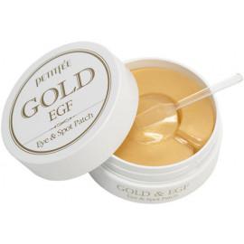 Гидрогелевые патчи для глаз ЗОЛОТО Petitfee EGF Gold & EGF Eye&Spot Patch 90 шт
