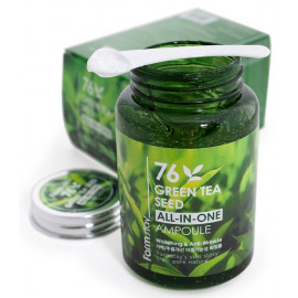 Ампульная сыворотка FarmStay с семенами зеленого чая Green Tea 250 мл