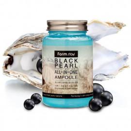 Ампульная сыворотка FarmStay с черным жемчугом black pearl ALL-IN ONE AMPOULE 250 мл