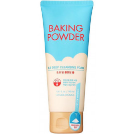 Пенка Etude House для жирной и комбинированной кожи Baking Powder Pore & BB Deep 160 мл