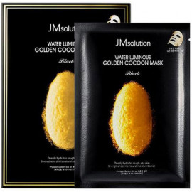 Тканевая маска JMsolution с золотым шелкопрядом Water Luminous Golden Cocoon Mask