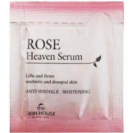 ПРОБНИК Антивозрастная сыворотка для лица The Skin House с экстрактом розы Rose Heaven 2мл