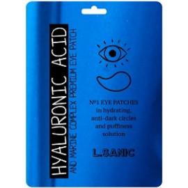 Гидрогелевые патчи L.SANIC для области вокруг глаз с гиалуроновой кислотой и экстрактом водорослей 2шт