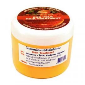Маска для волос NT GROUP с реки Квай с экстрактом папайи и яйцом Egg yolk hair treatment 300 мл