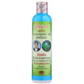 Кондиционер JINDA от выпадения волос синим чаем Herbal Conditioner Fresh mee leaf + Butterfly Pea 250 мл