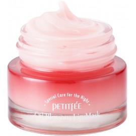 Маска для губ Petitfee с маслом камелии Oil Blossom Lip mask (Camellia seed oil), 15 гр