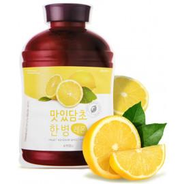 Тканевая маска для лица APIEU Fruit Vinegar Sheet Mask (Lemon)