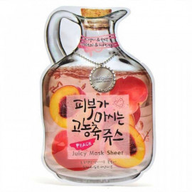 Тканевая маска для лица BAVIPHAT фруктовая Peach Juicy Mask Sheet (Vital & Lifting) в интернет магазине