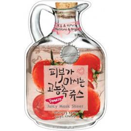 Тканевая маска для лица BAVIPHAT фруктовая Tomato Juicy Mask Sheet ( Moisture & Bright ) c бесплатной доставкой