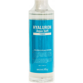 Тонер SECRET KEY гиалуроновый Hyaluron Soft Micro-Peel Toner 500мл