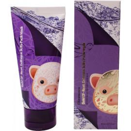 Маска для лица ELIZAVECCA с экстрактом ласточкиного гнезда Gold Cf-Nest Collagen Jella Pack Mask 80мл