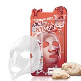 Тканевая маска для лица Elizavecca с Коллагеном COLLAGEN DEEP POWER Ringer mask pack c бесплатной доставкой