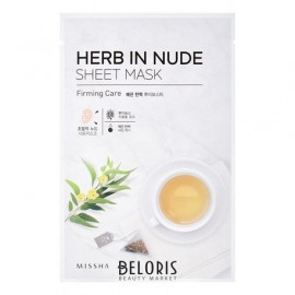 Маска для лица MISSHA Herb In Nude Sheet Mask Firming Care