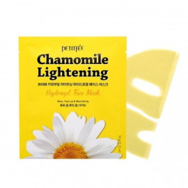 Маска для лица гидрогелевая Petitfee c РОМАШКОЙ Chamomile Lightening