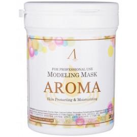 Маска альгинатная Anskin антивозрастная питатательная Aroma 240гр (банка)