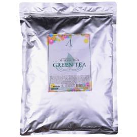 Маска альгинатная Anskin с экстрактом зеленого чая Grean Tea Modeling 1кг