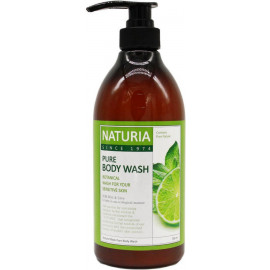 Гель для душа NATURIA МЯТА/ЛАЙМ PURE BODY WASH Wild Mint & Lime 750 мл
